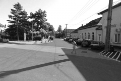 A nemrég átadott Kossuth utca