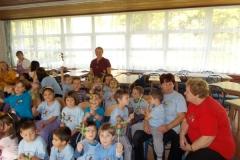 Pedagógus Szolgálati Emlékérem átadása Mórocz Csabánénak (1)