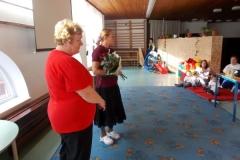 Pedagógus Szolgálati Emlékérem átadása Mórocz Csabánénak (2)